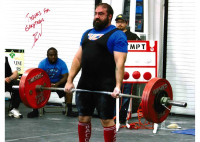Brandon Zermeno - East Valley Crossfit Powerlifting Competitor