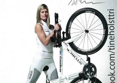 Tine Holst - Professional Triathlete & IronMan Finisher